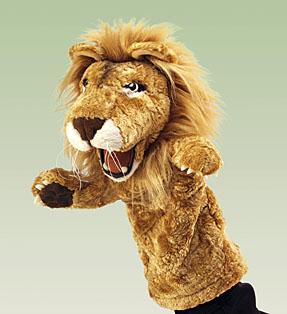 Как сделать игрушку лев